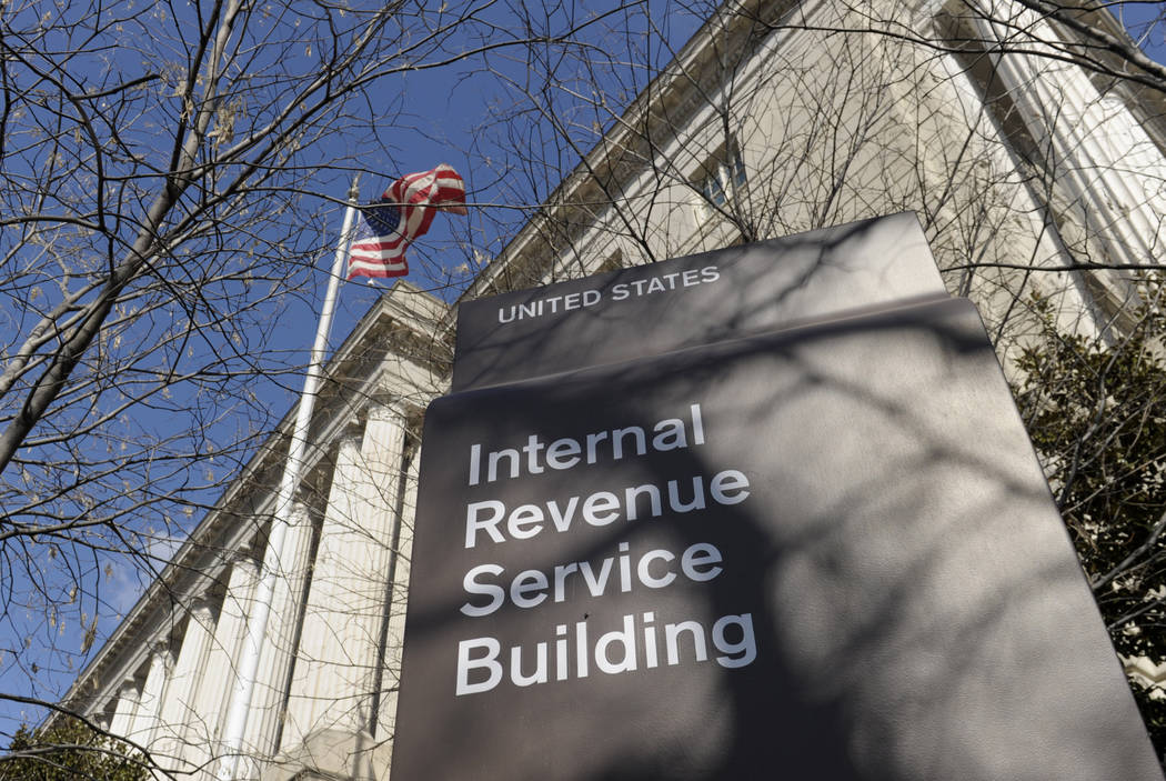 The exterior of the Internal Revenue Service building in Washington on March 22, 2013. (AP Photo/Susan Walsh, File)