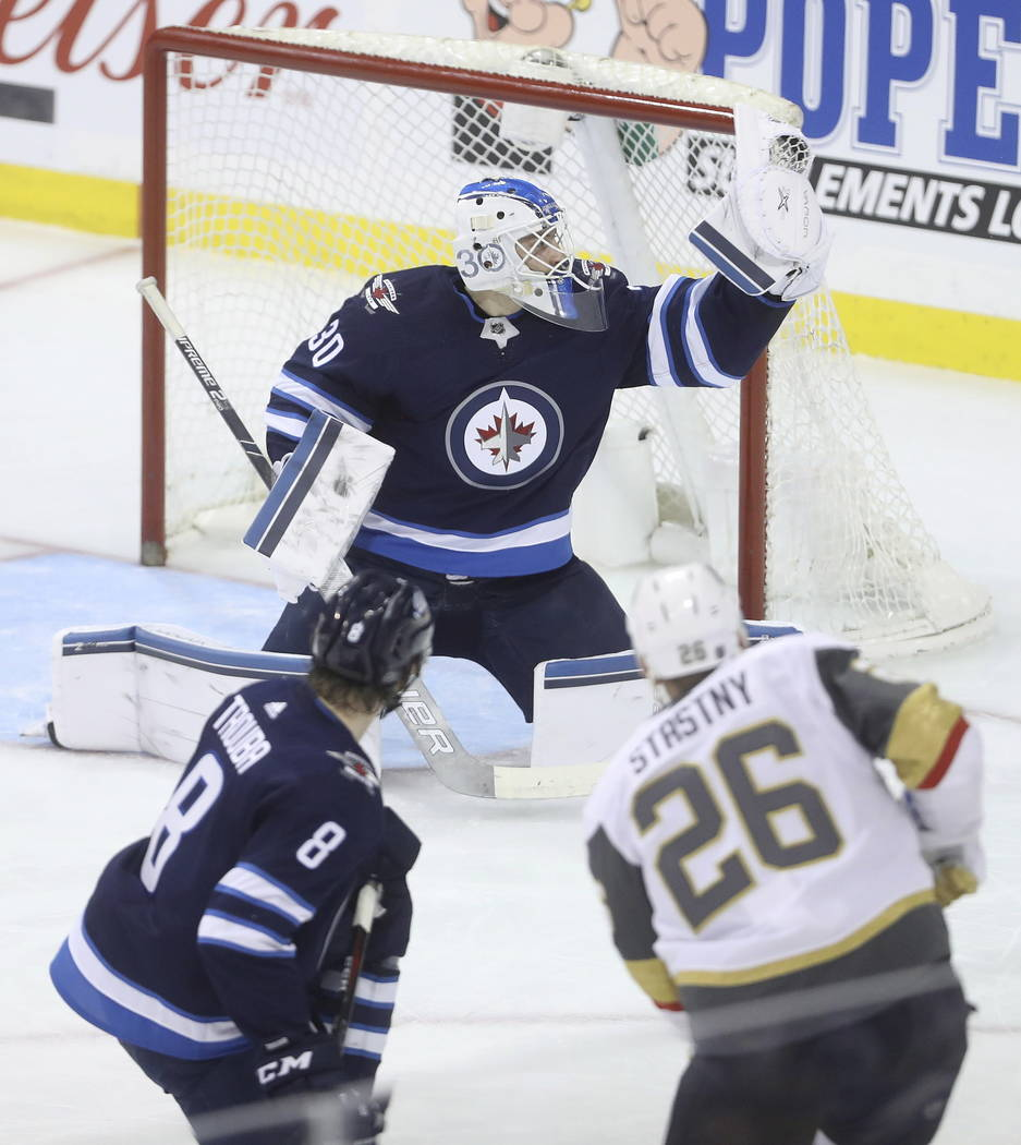 Golden Knights Can't Convert Chances In Loss To Jets