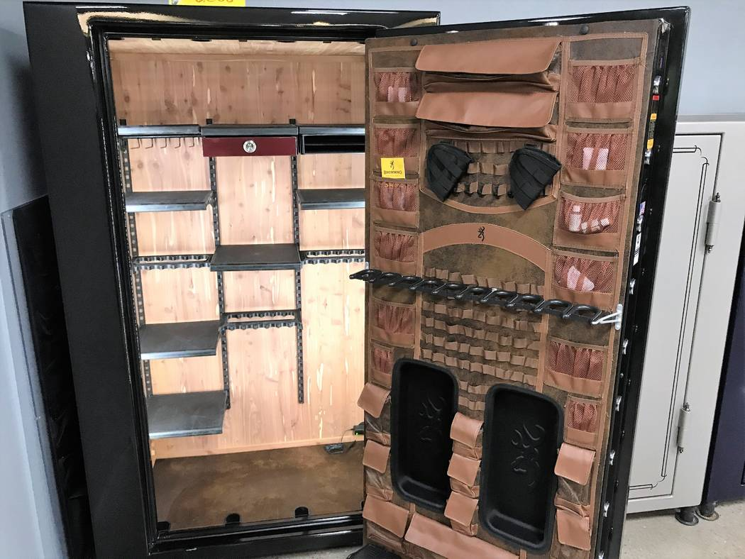 The interior storage area of gun safes can be simple or ornate, the choice depends on your objectives and your pocket book. Most provide the user with the ability to rearrange storage space. This ...
