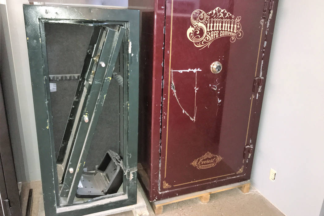Be ready for surprising answers when shopping for gun safes | Las