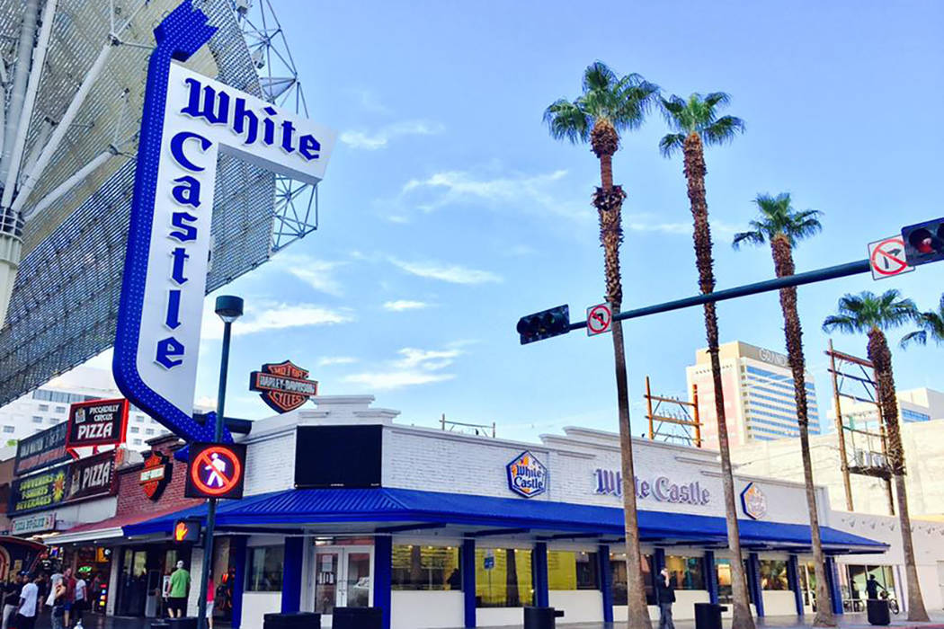 White Castle at Fremont Street Experience. (Facebook)