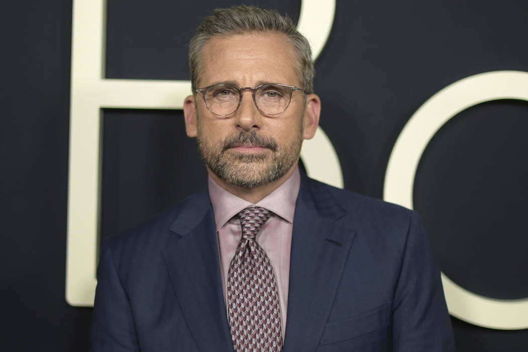 """Steve Carell arrives at the premiere of """"Beautiful Boy"""" in Beverly Hills, Calif. on Oct. 8, 2018. Carell will reunite with his creative team from """"The Office,"""" Greg Daniels and Howard Klein, for t ..."""