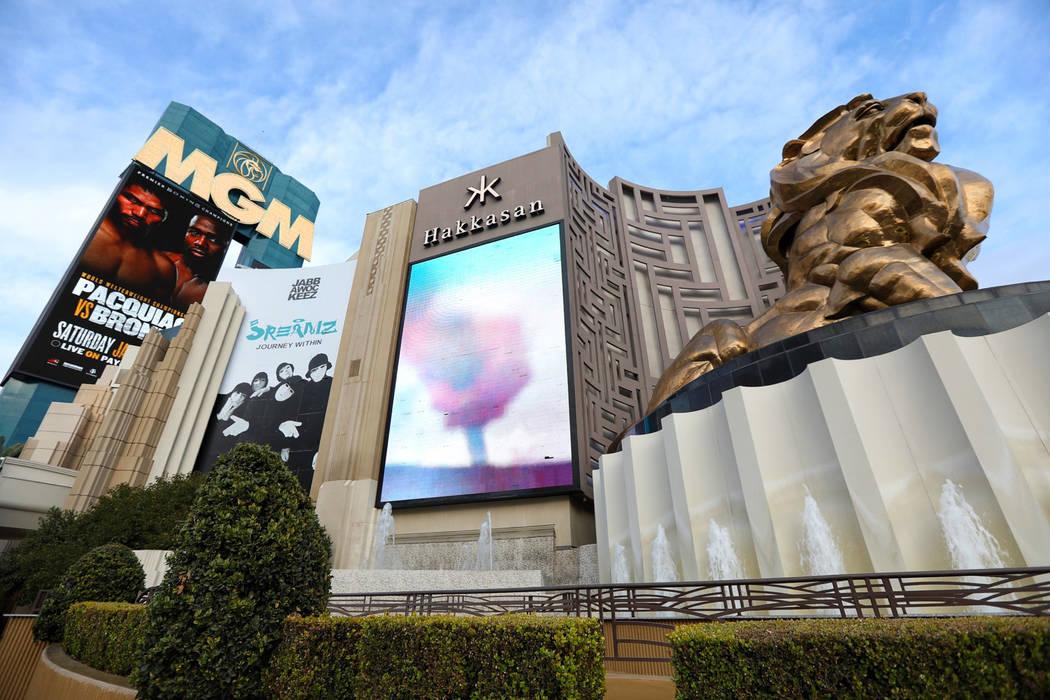 Mgm Grand Planning Revamp Of Las Vegas Strip Front Las Vegas Review Journal