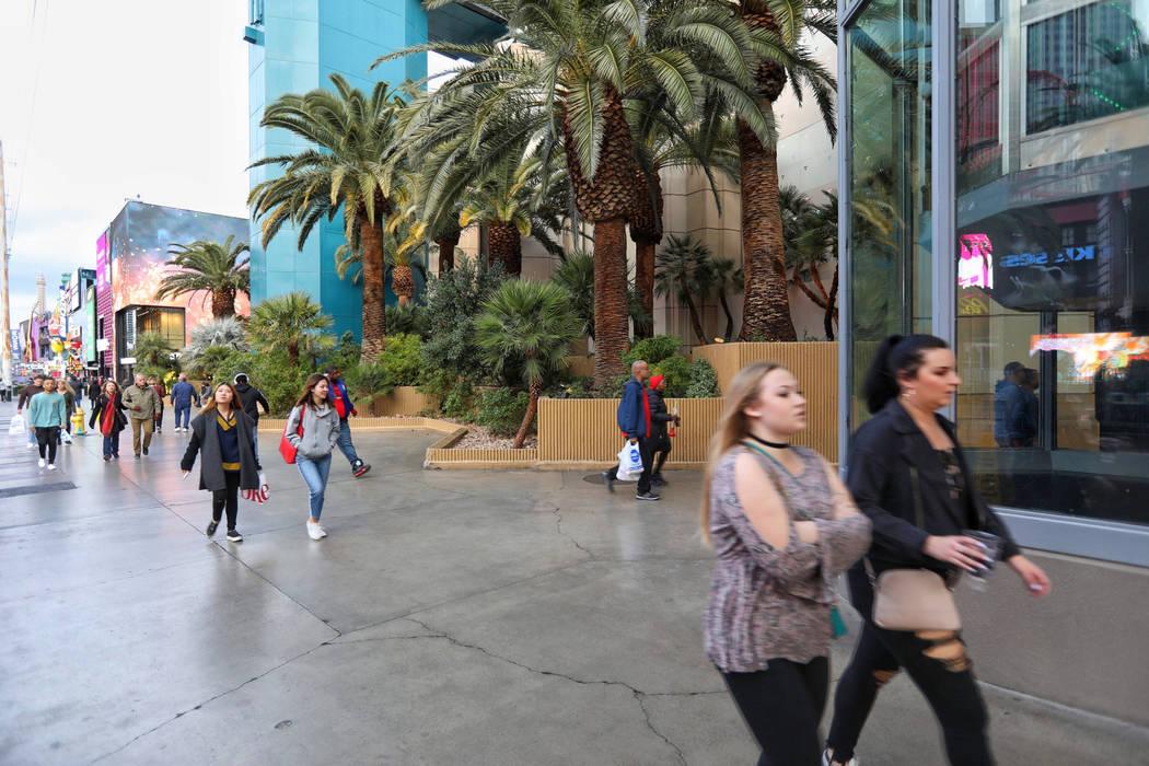 MGM GrandÕs Strip front seen Wednesday, Jan. 16, 2019. Todd Prince/Las Vegas Review-Journal