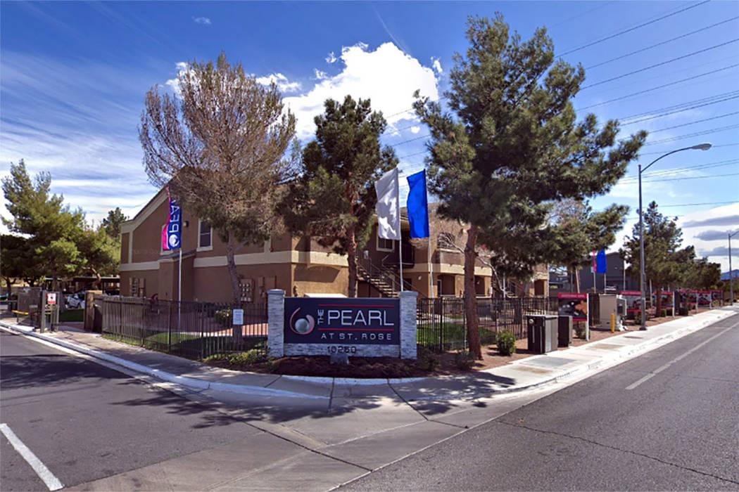 apartment complex at 10250 Spencer St., Las Vegas (Google maps)