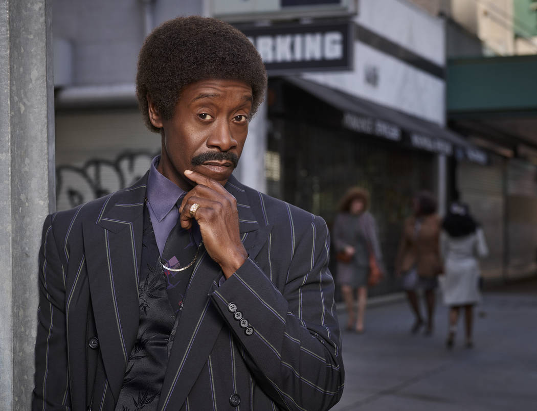 Don Cheadle as Maurice in BLACK MONDAY. (Michael Levine/SHOWTIME)