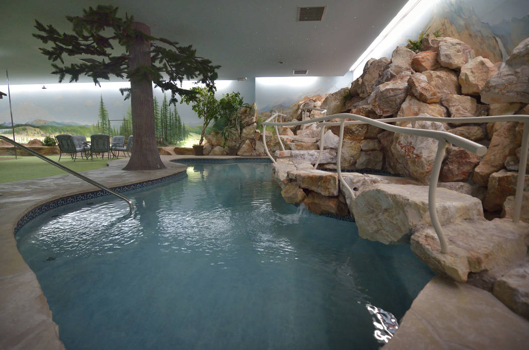 The Underground House has a pool. (Bill Hughes/Real Estate Millions)