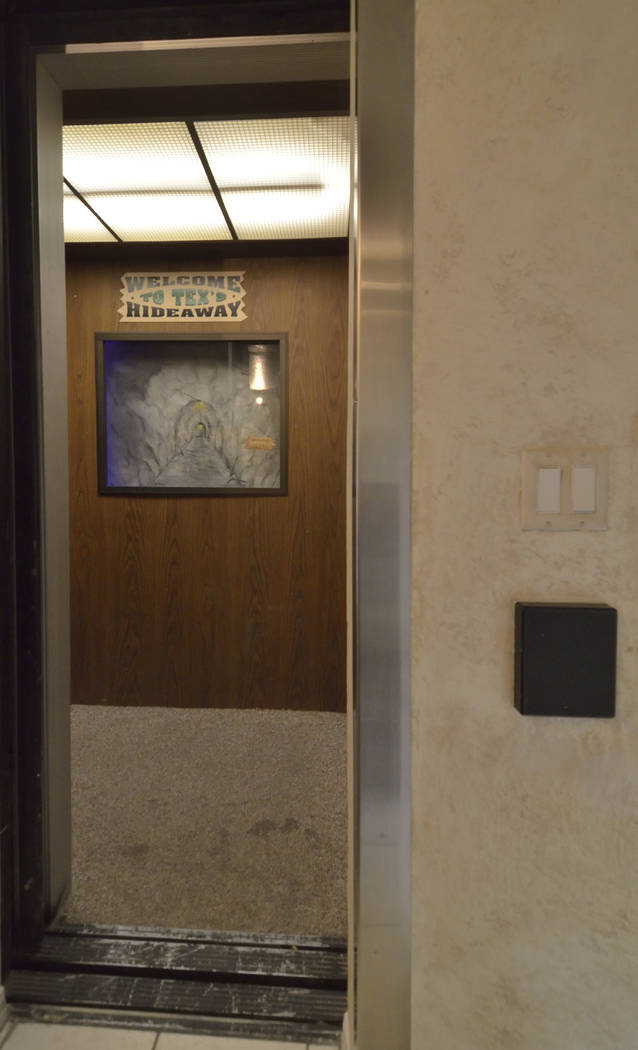 An elevator from a town home leads to The Underground House. (Bill Hughes Real Estate Millions)