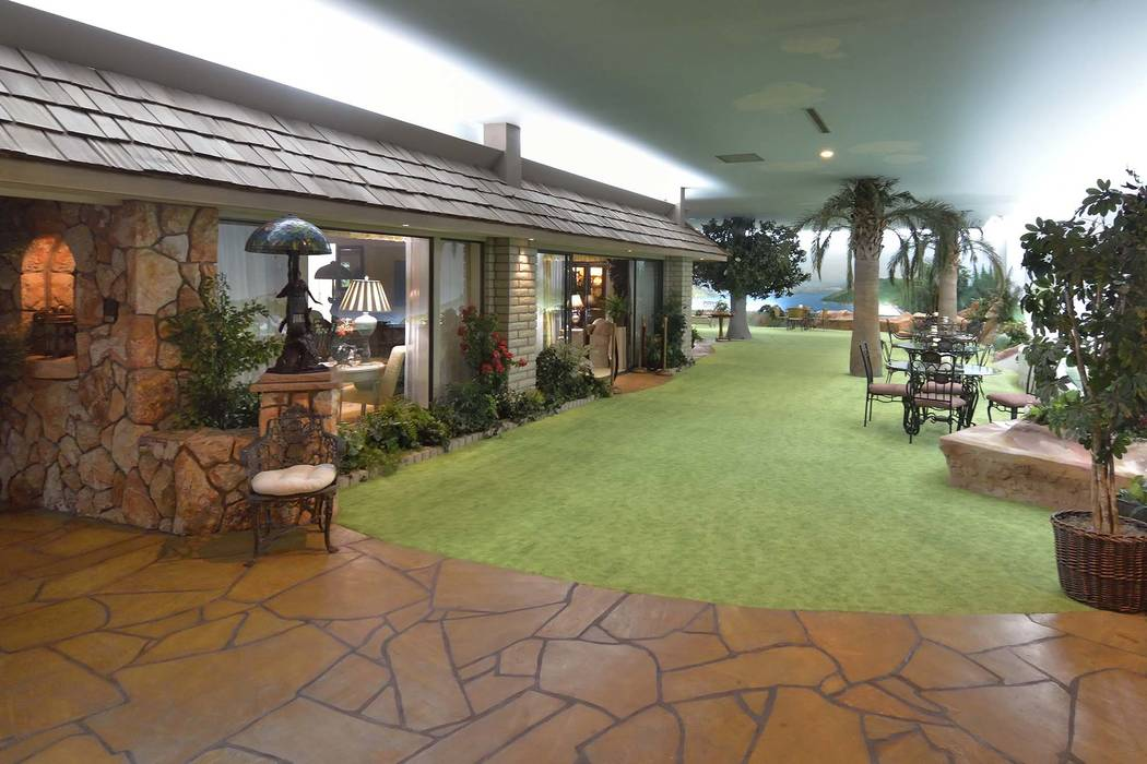 The Underground House in Las Vegas is on the market for $18 million (Bill Hughes/Real Estate Millions)