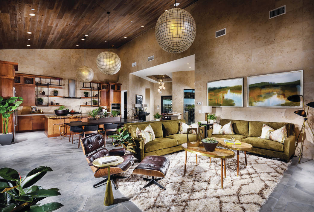Mesa Ridge includes one- and two-story homes ranging from 2,970 square feet to more than 5,000 square feet. (Summerlin)