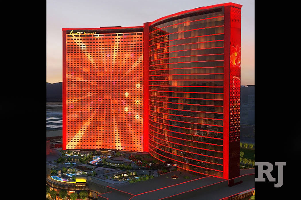 A rendering of what Resorts World will look like when completed. (Courtesy)