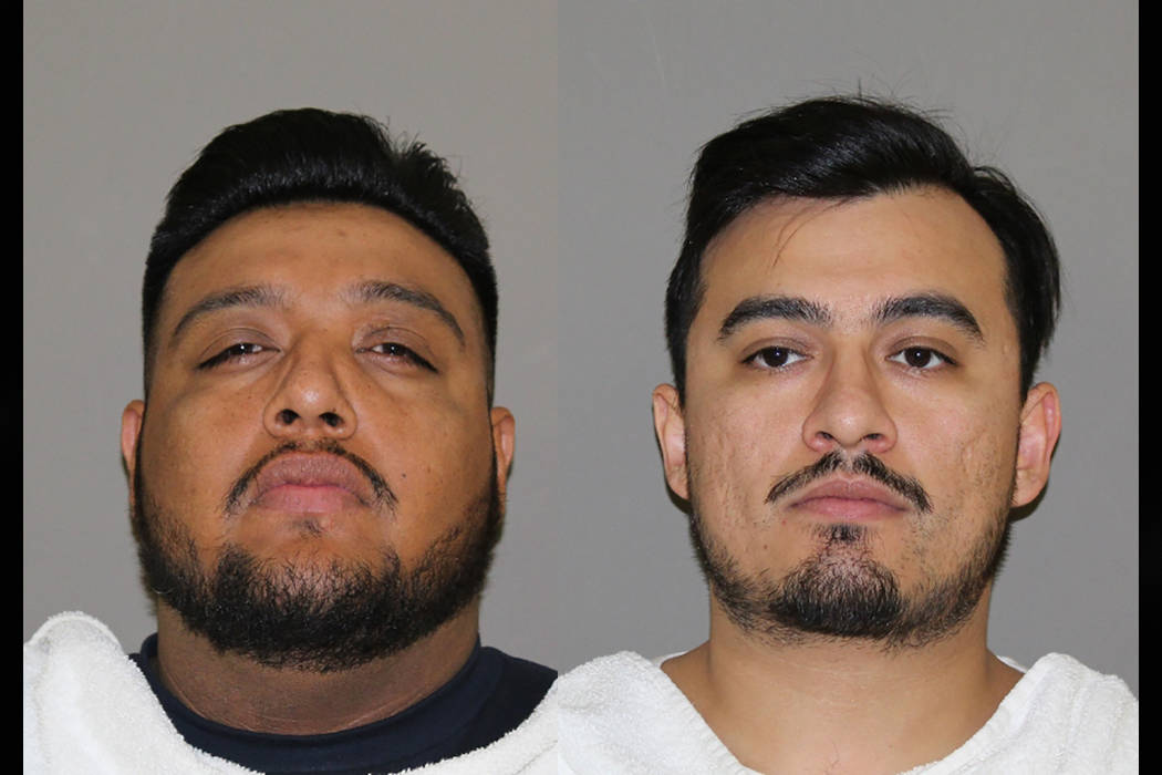 Sergio Mendez, Jr. (left) and Juan Carlos Colin. (Denton County Jail)