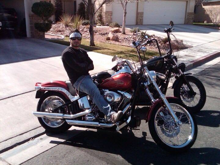 Ivan Patrick on his Harley. He died in a fatal accident on Oct. 31, 2011. (Ryan Patrick)
