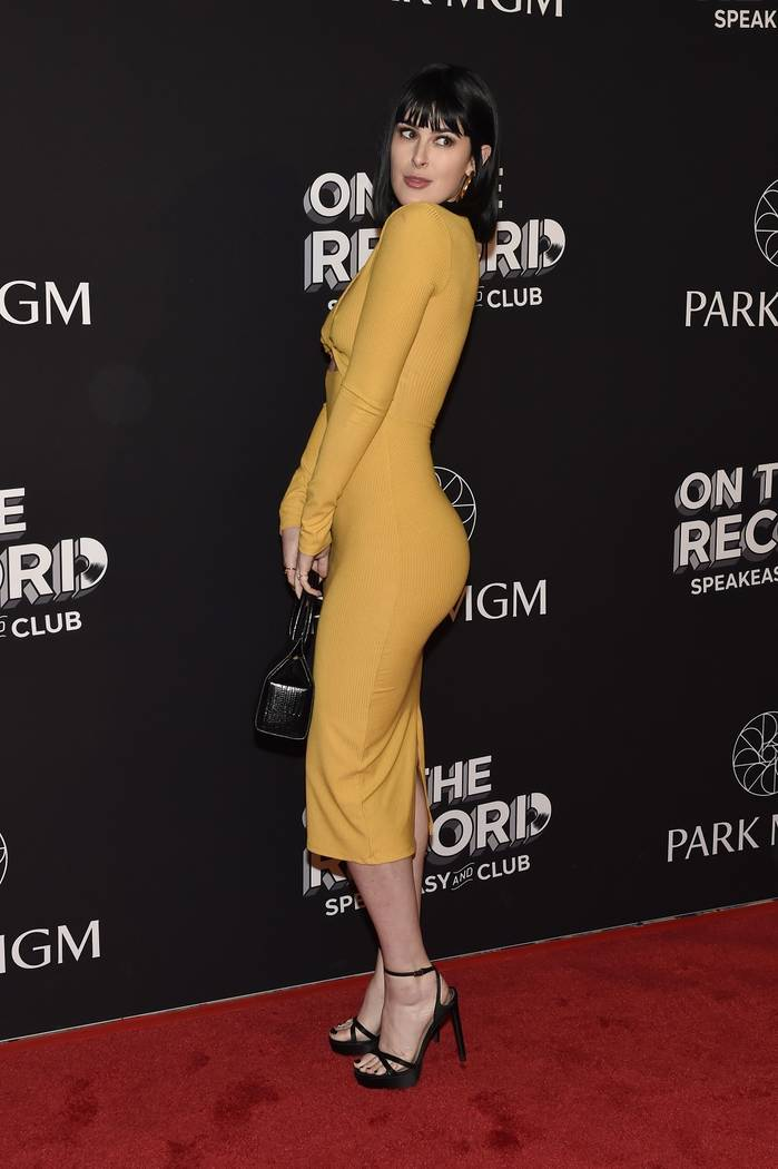 Actress Rumer Willis arrives at the grand opening celebration of On The Record at Park MGM on January 19, 2019 in Las Vegas. (Photo by David Becker/Getty Images)