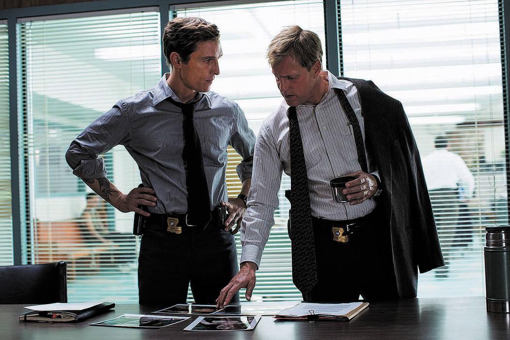 TRUE DETECTIVE episode 3: Matthew McConaughey, Woody Harrelson. photo: Michele K. Short/HBO