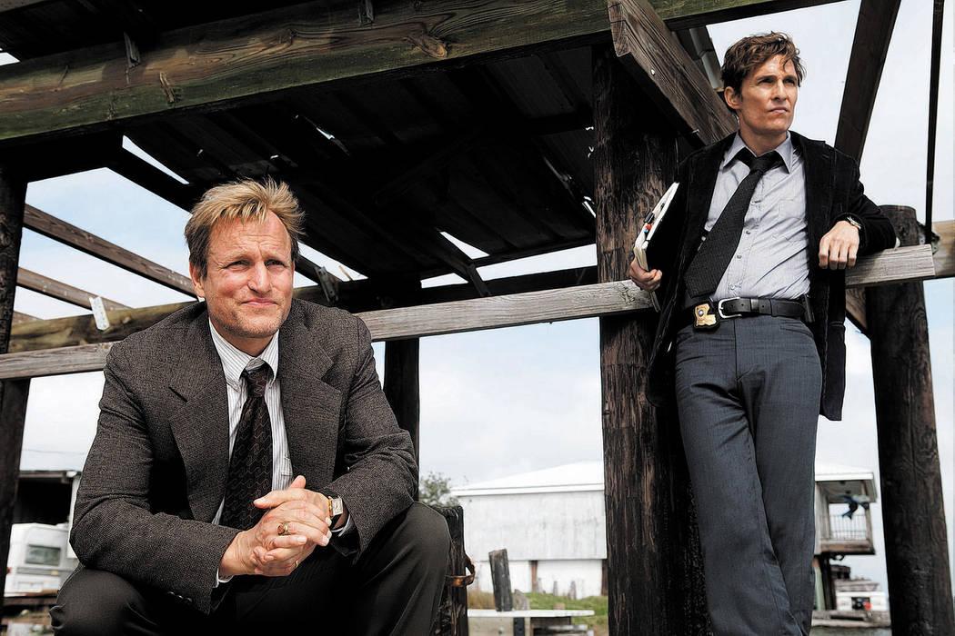 TRUE DETECTIVE: Woody Harrelson, Matthew McConaughey. photo: James Bridges/HBO