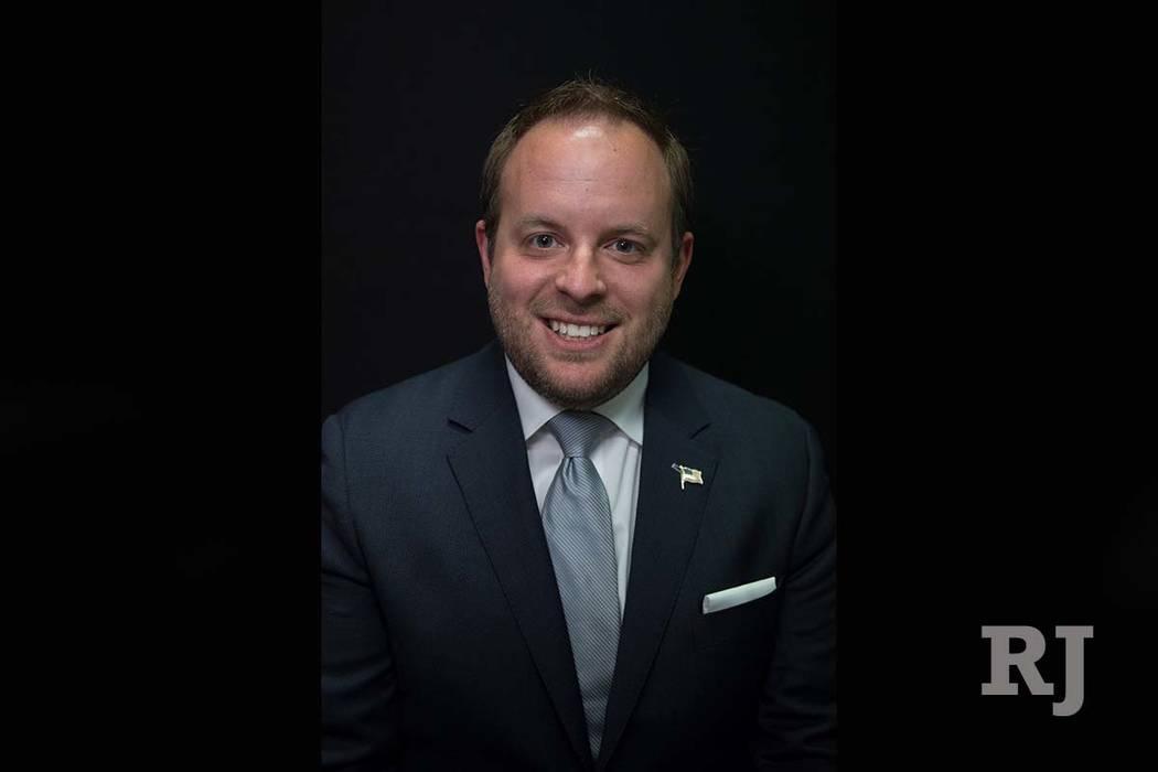 Nevada State Treasurer Zach Conine (Las Vegas Review-Journal)
