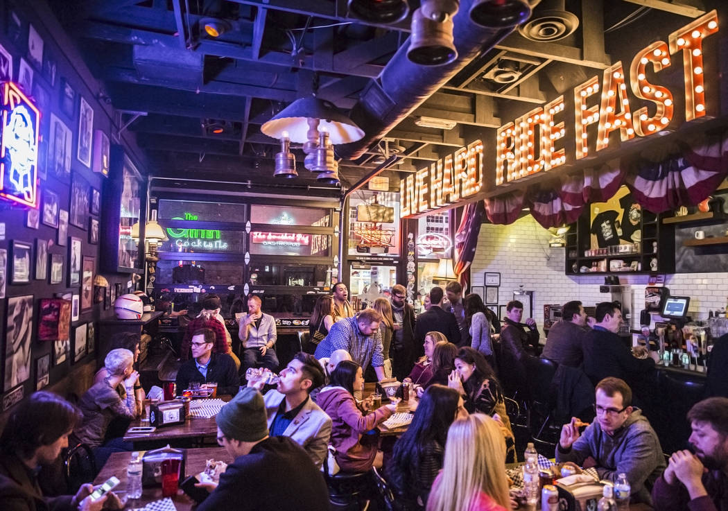 Evel Pie in Las Vegas. Benjamin Hager/Las Vegas Review-Journal