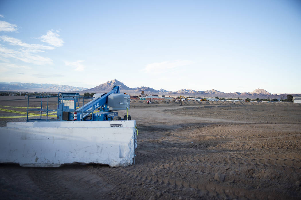 A lot that is a proposed space to build a data center for Google in Henderson, Monday, Oct. 8, 2018. Caroline Brehman/Las Vegas Review-Journal @carolinebrehman