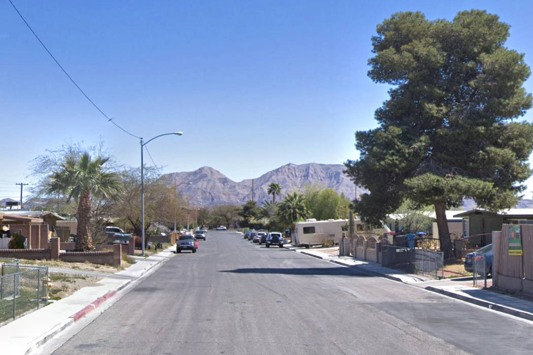 Stanley Avenue, near North Pecos Road and East Owens Avenue, in North Las Vegas. Google Street View image.