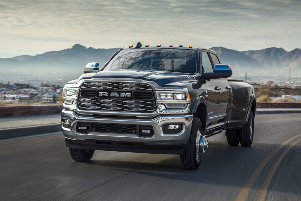 Two new heavy-duty Rams unveiled at Chapman | Las Vegas ...