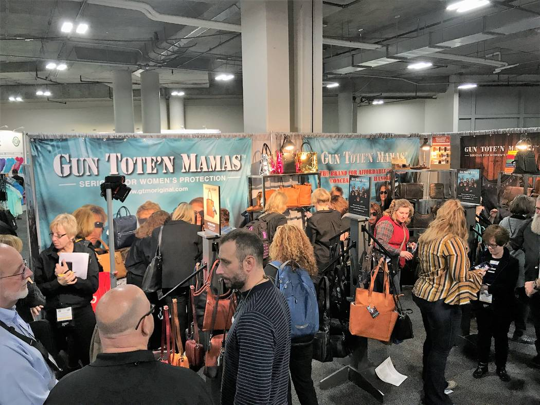 While perusing the exhibits at the Shooting, Hunting and Outdoor Trade (SHOT) Show, retailers will find a wide variety of products available from suppliers around the world. Gun Tote'n Mamas speci ...