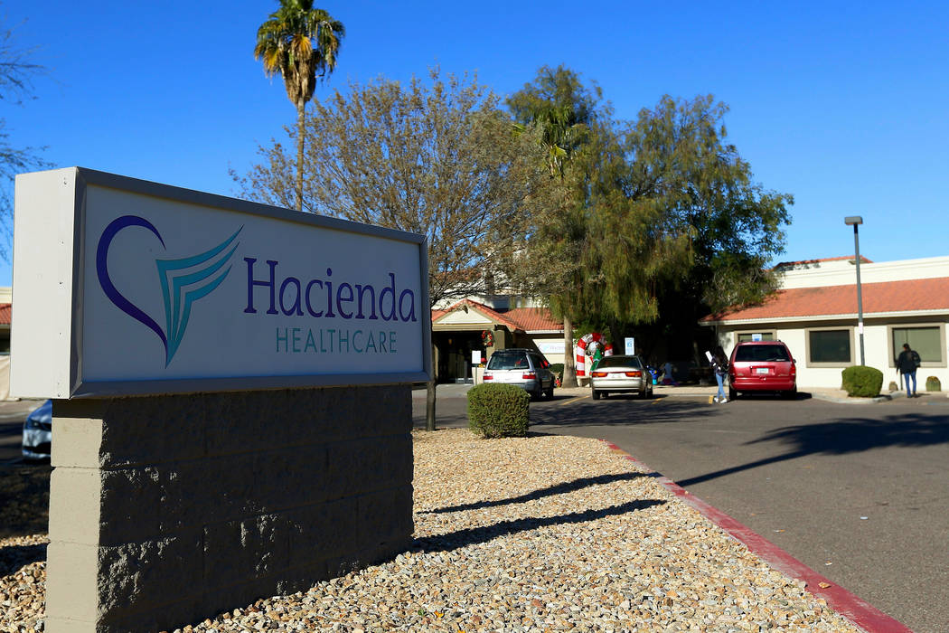 Hacienda HealthCare in Phoenix on Friday, Jan. 4, 2019. (AP Photo/Ross D. Franklin)