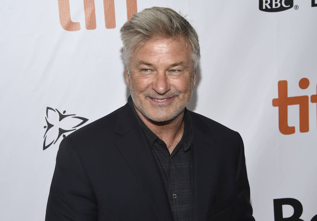 "FILE - In this Sept. 9, 2018 file photo, Alec Baldwin attends a gala for ""The Public"" on day 4 of the Toronto International Film Festival at Roy Thomson Hall, in Toronto. Baldwin is due ..."