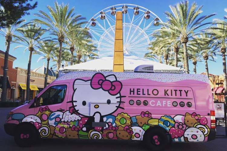 The Hello Kitty Cafe Truck is coming to Southern Nevada. (Courtesy)