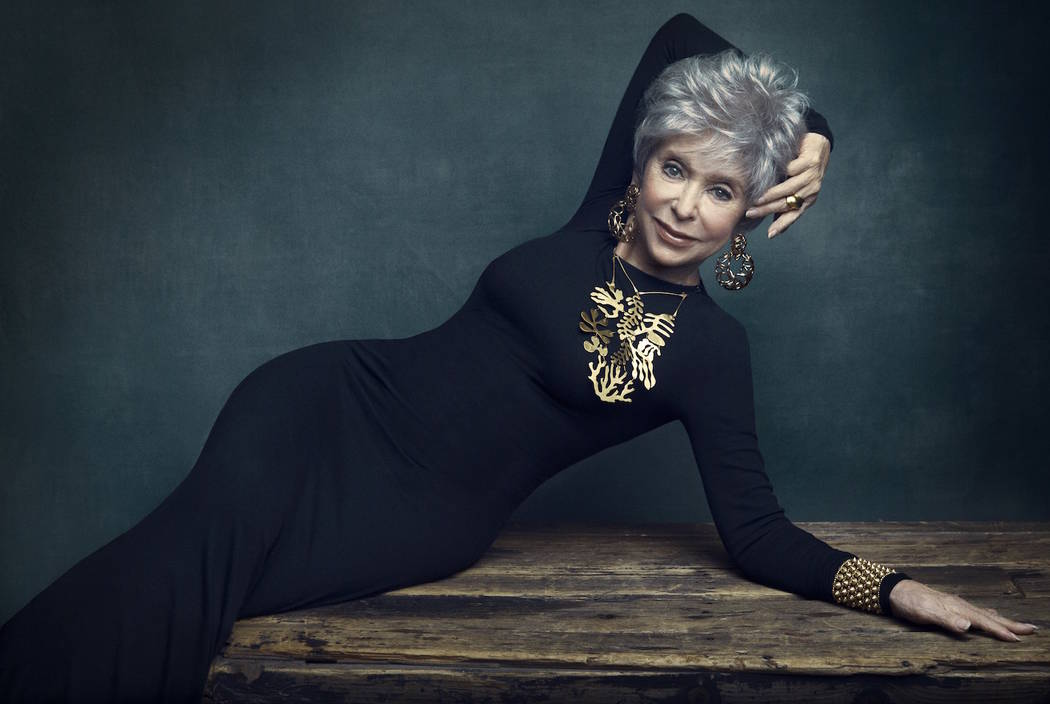 Rita Moreno is the 2019 Nevada Ballet Theatre Woman of The Year, honored on Saturday, Jan. 26, 2019. (Austin Hargrave)