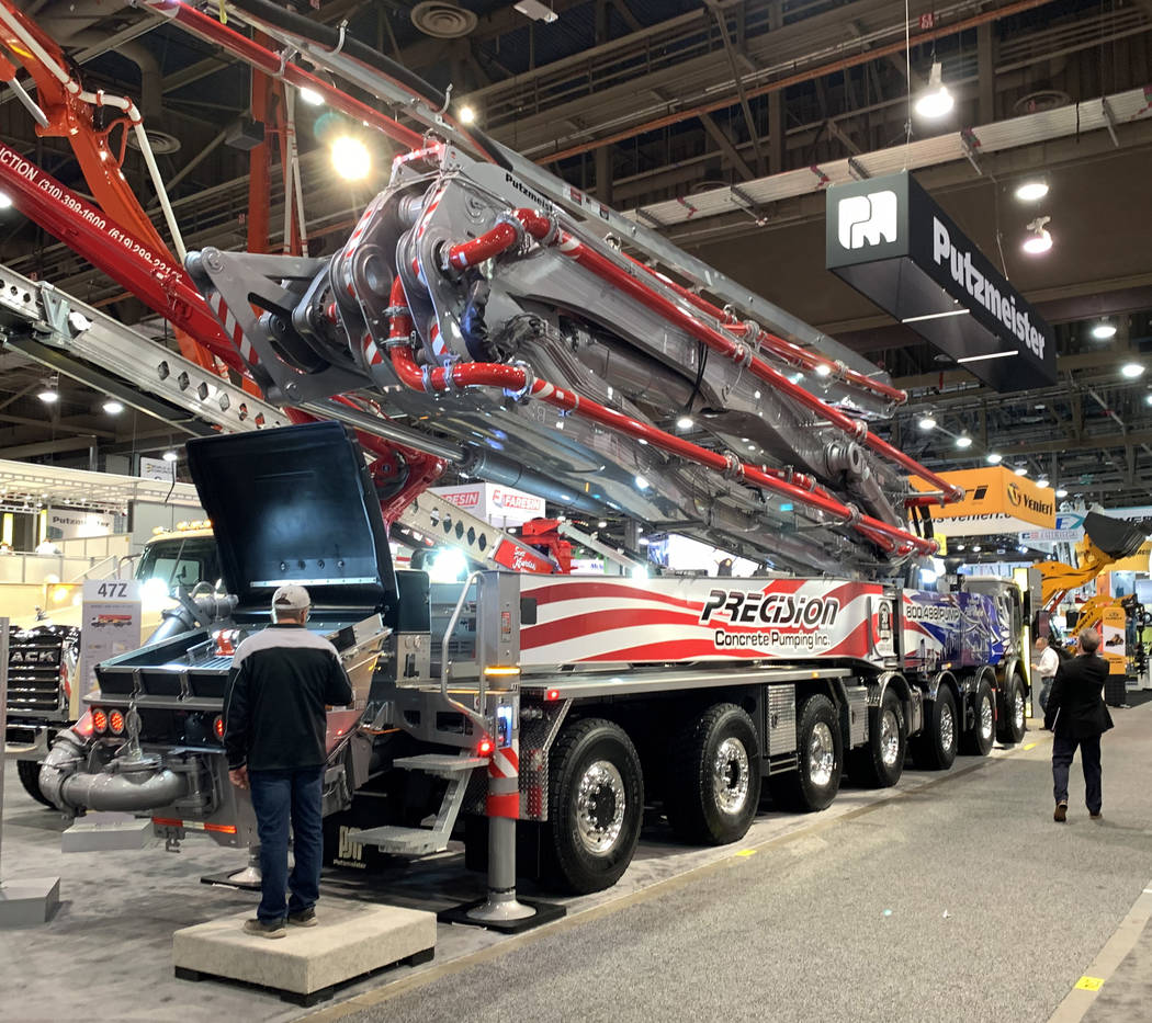 World Of Concrete 2019 3 Hulking Pieces Of Equipment