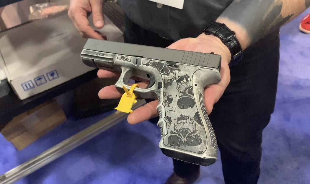 Best Of Shot Show 2019 SHOT Show 2019: Using lasers to make a mark in arms industry   Las
