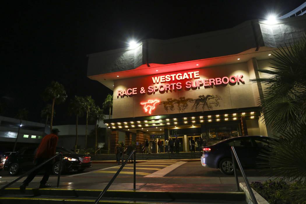 A view of the Westgate Superbook in Las Vegas on Thursday, Jan. 24, 2019. (Chase Stevens/Las Vegas Review-Journal) @csstevensphoto