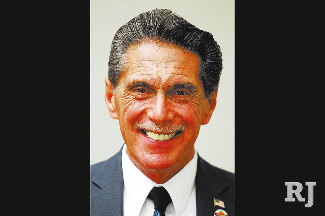 Richard Cherchio (Kevin Cannon/Las Vegas Review-Journal)