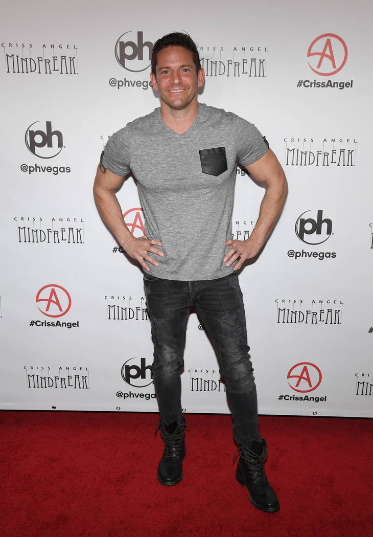 "LAS VEGAS, NEVADA - JANUARY 19: Singer Jeff Timmons of 98 Degrees attends the grand opening of ""Criss Angel MINDFREAK"" at Planet Hollywood Resort & Casino on January 19, 2019 in Las ..."