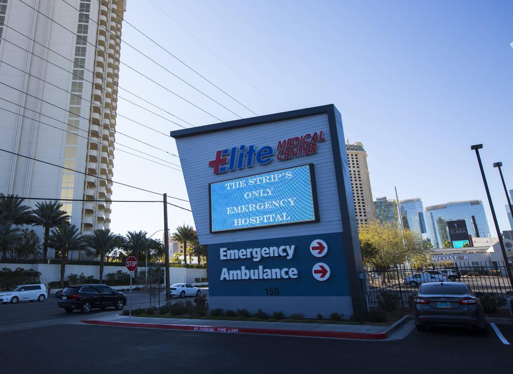Elite Medical Center at 150 E. Harmon Ave. in Las Vegas on Friday, Jan. 25, 2019. Chase Stevens Las Vegas Review-Journal @csstevensphoto