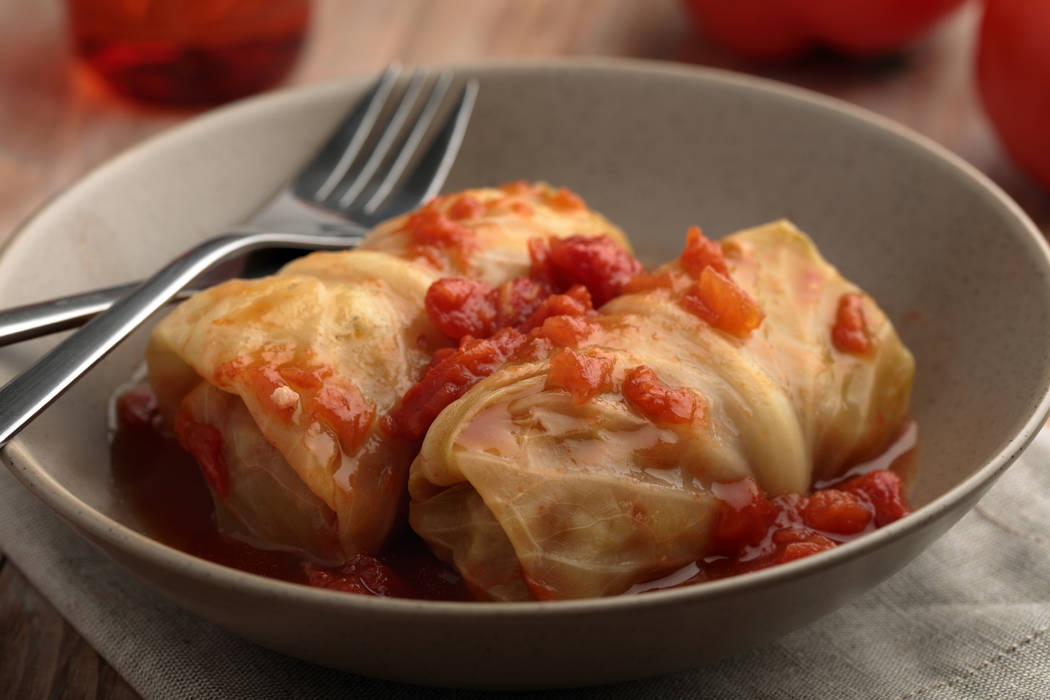 Cabbage rolls with meat and rice filling (Getty Images)