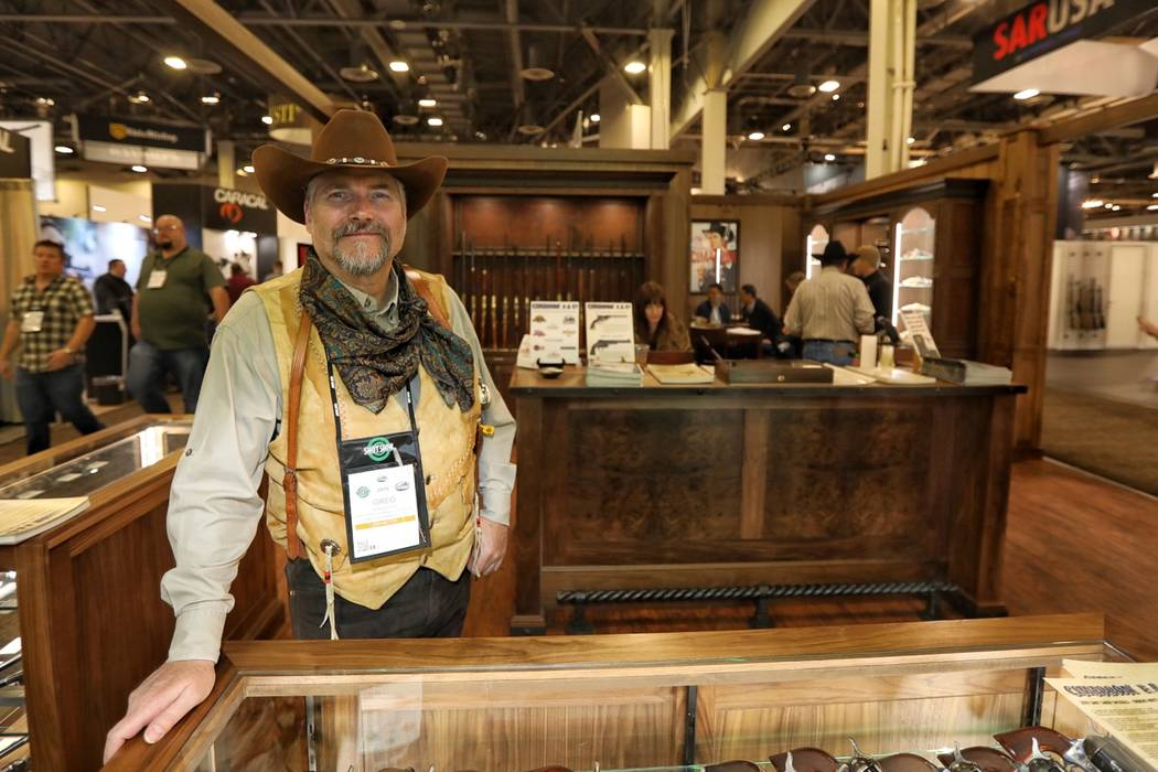 SHOT Show 2019: Cimarron Firearms offers classic-looking booth, guns