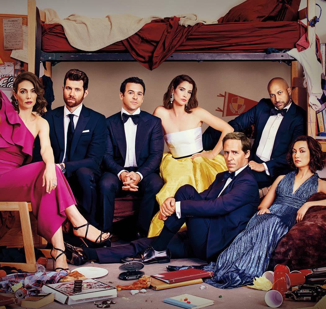 "The Netflix comedy ""Friends From College"" (Netflix)"