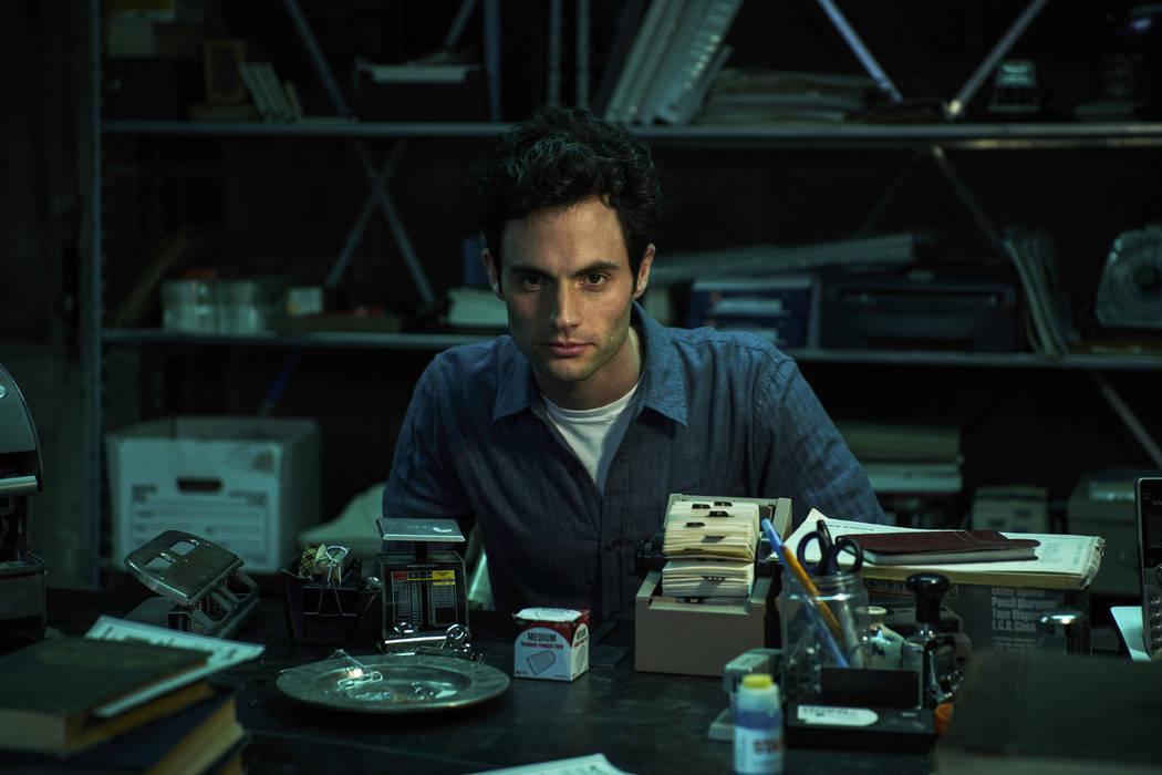 "Penn Badgley in ""You"" (Netflix)"
