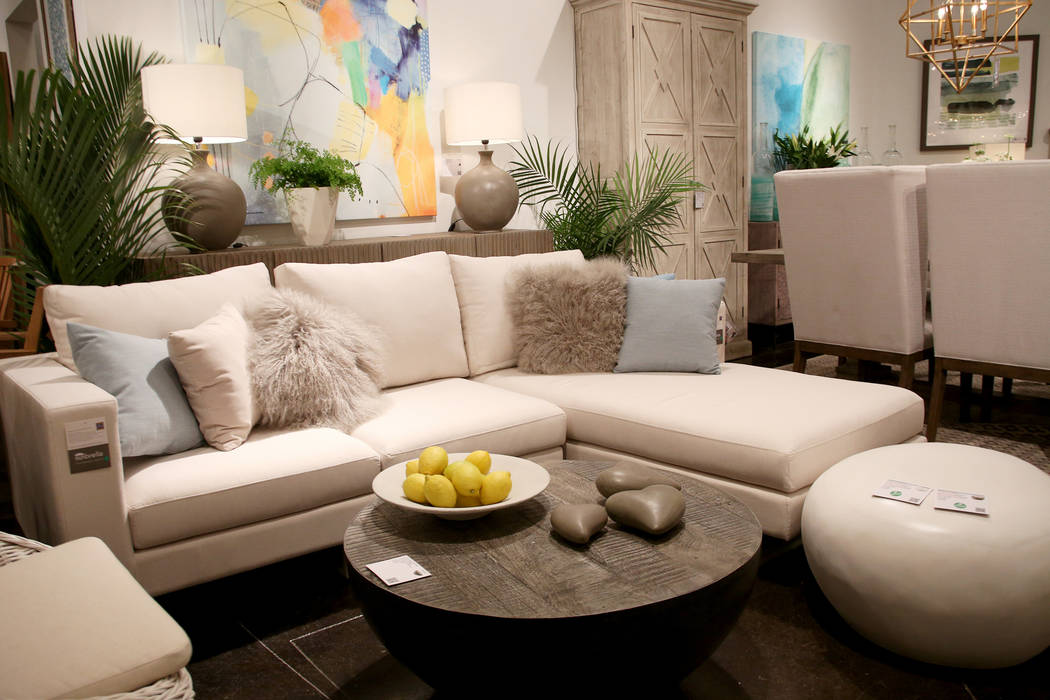 Las Vegas Market Opens Downtown Sees Latest Furniture Trends Las