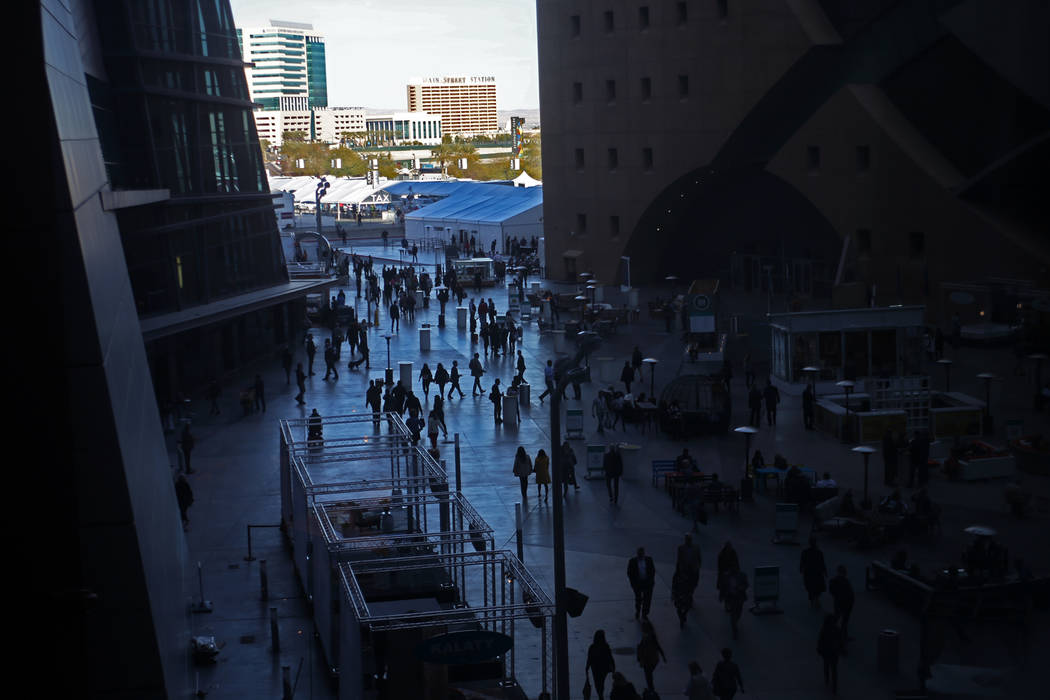 The first day of the Las Vegas Winter Market at the World Market Center in Las Vegas, Sunday, Jan. 27, 2019. (Rachel Aston/Las Vegas Review-Journal) @rookie__rae