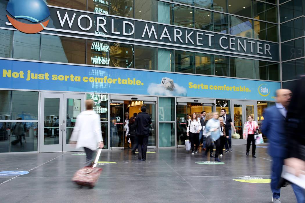 The first day of the Las Vegas Market at the World Market Center in Las Vegas, Sunday, Jan. 27, 2019. (Rachel Aston/Las Vegas Review-Journal) @rookie__rae