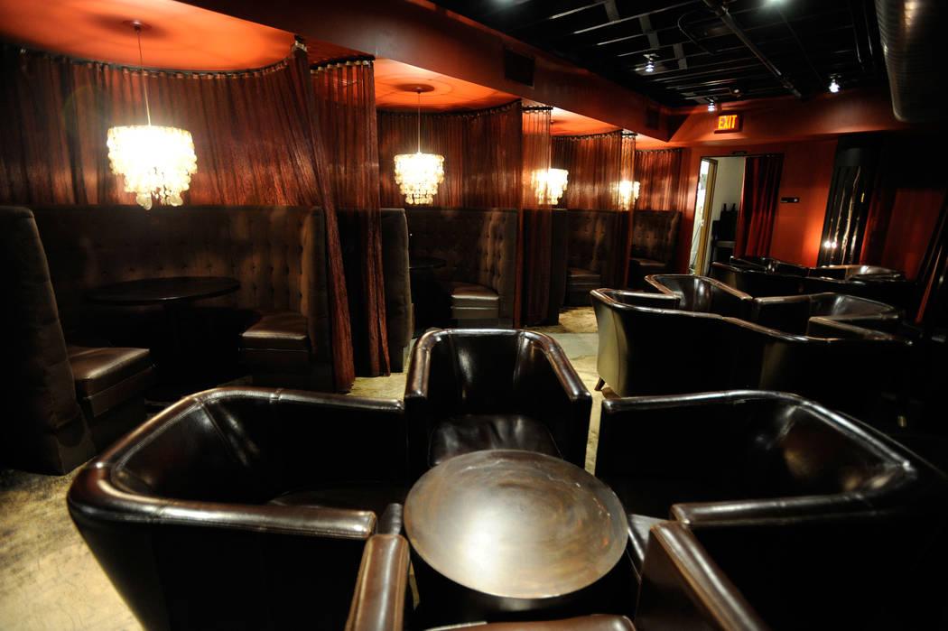 The interior of the Downtown Cocktail Room, 111 Las Vegas Blvd. S., in Las Vegas is shown on Thursday, Dec. 15, 2011. (David Becker/Las Vegas Review-Journal) DAVID BECKER/LAS VEGAS REVIEW-JOUR ...