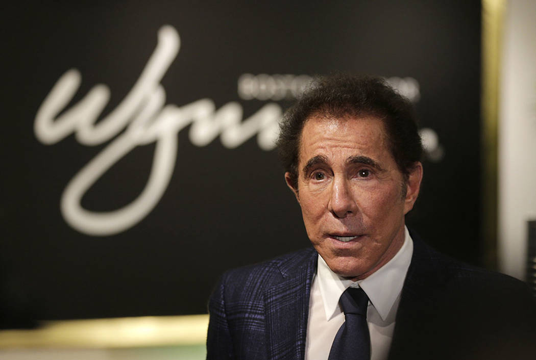 Steve Wynn takes part in a news conference in Medford, Mass., in 2016. (AP Photo/Charles Krupa)