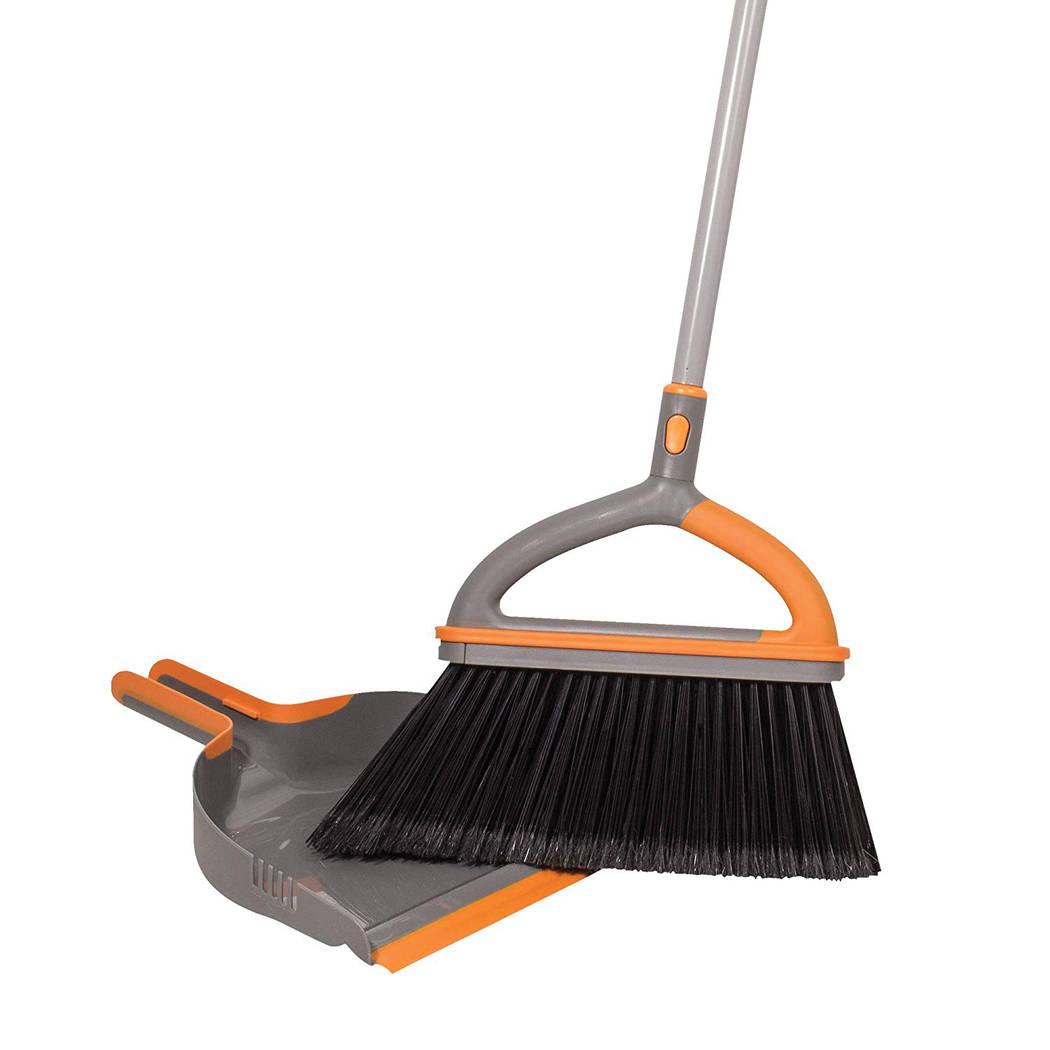 Bradshaw Home Casabella Ergo Broom Plus with Dustpan