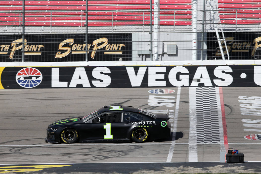 NASCAR driver and Las Vegas native Kurt Busch during testing at Las Vegas Motor Speedway Thursday, Jan. 31, 2019. (K.M. Cannon/Las Vegas Review-Journal) @KMCannonPhoto