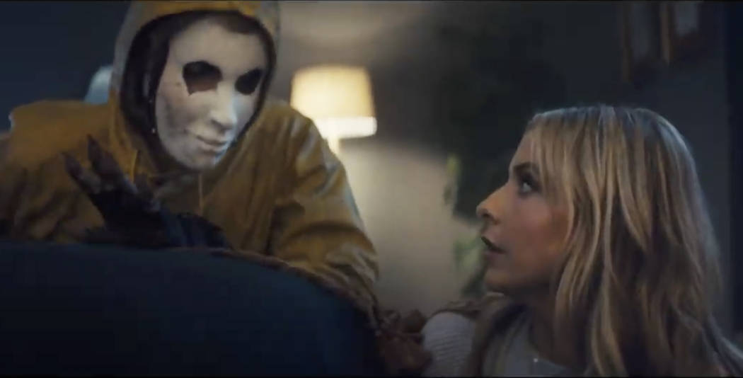 This screen grab from video provided by Olay shows an image from the company's 2019 Super Bowl NFL football spot featuring Sarah Michelle Gellar. Star power abounds in this year's Super Bow ...