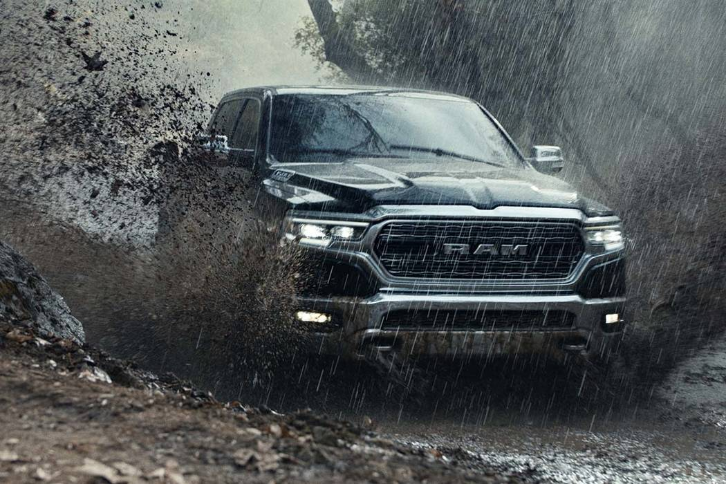 This undated file photo provided by Ram Truck Brand shows a scene from the company's Super Bowl spot. Last year, a Ram truck ad showed people doing service-oriented tasks set against audio of Mart ...