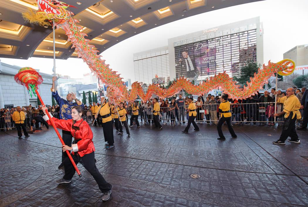 Caesars Palace Lion Dance (Caesars Entertainment)